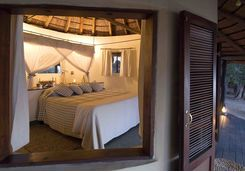 Nsefu camp bedroom