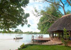 Nkwali river boat