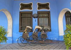 Rickshaws in Penang