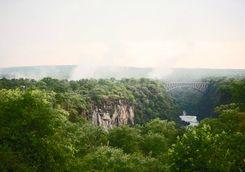 Path to Victoria Falls