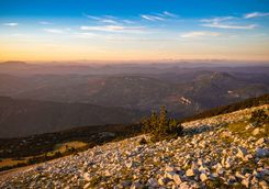 View from Mount Ventoux