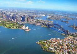 Aerial of Sydney