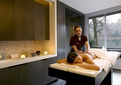 A massage at Les Sources de Caudalie