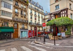 A Parisian street