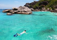 Snorkelling in Thailand