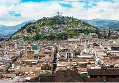 Quito panoramic