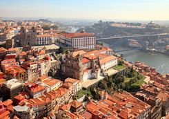 Aerial View of Porto