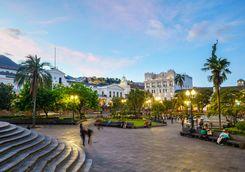 Quito's grande plaza