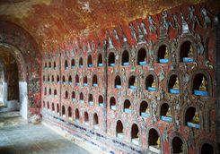 Inside Shwe Yan Pyay monastery