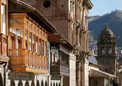 Cusco buildings