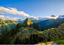 Marchu Picchu sunrise