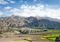 Colca Canyon surroundings