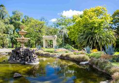 Gardens in Melbourne