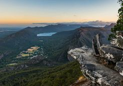 Lookout over the Grampians