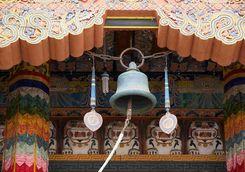 Punakha Dzong ritual bell