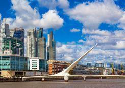 Bridge in Buenos Aires