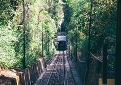 Funicular on a Hill