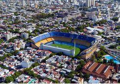 Boca football stadium
