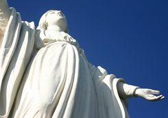 White Stone Statue