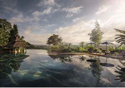 Pool at the Anantara Golden Triangle