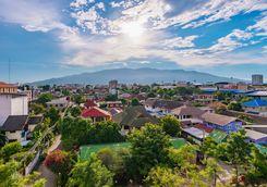 Chiang Mai city view