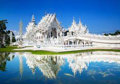 White temple in Chiang Rai
