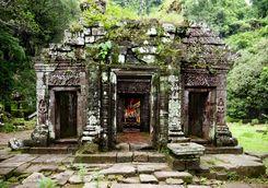 Overgrown temple