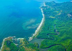 Costa Rica's coastline