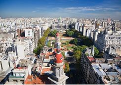City skyline of Buenos Aires
