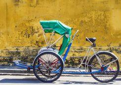 Tri shaw in Ho Chi Minh