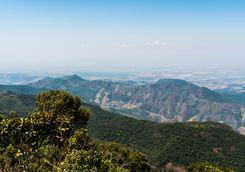 Hills in Minas Gerais