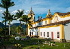 Church in Tiradentes