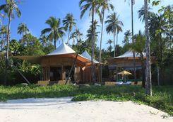 beach villa suite exterior on beach