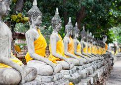 Ayutthaya Statues