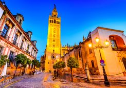 Seville evening