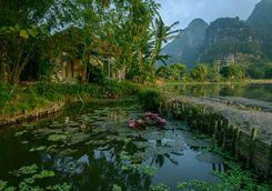 Tam Coc garden ponds
