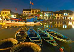 Boats in Hoi An