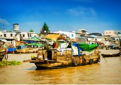 floating market mekong