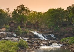 Waterfall on the Mekong River