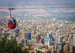 Santiago cable car