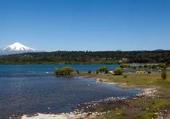 Villarica Volcano lake