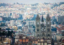 Quito city view