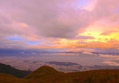 Sunset in Quito