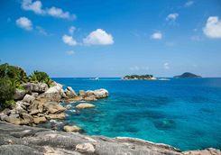 Felicite Island ocean