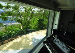 Piano in a Studio