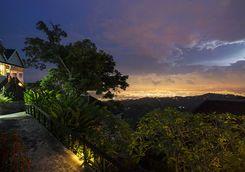 Night View over Jamaica