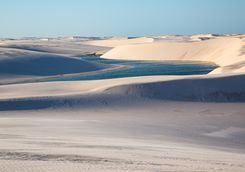 Dunes in a National Park