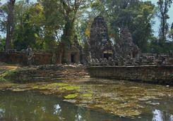 Angkor Thom water