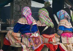 Hmong women in Vietnam