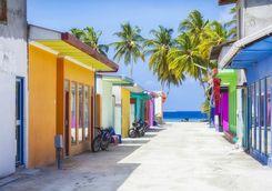 Maldives street